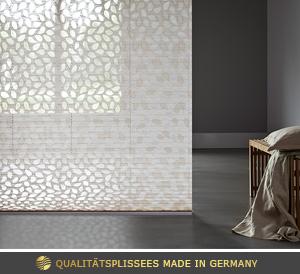 g nstige plissees nach ma cosiflor plissee online im. Black Bedroom Furniture Sets. Home Design Ideas