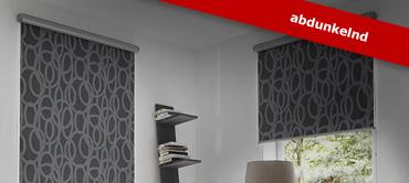 g nstige rollos vom raumtextilienshop stilvolles sichtschutz rollo f r ihr fenster. Black Bedroom Furniture Sets. Home Design Ideas