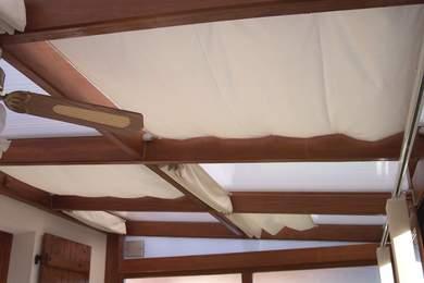 planungshilfen f r wintergartenbeschattung mit verschiebbaren sonnensegeln. Black Bedroom Furniture Sets. Home Design Ideas
